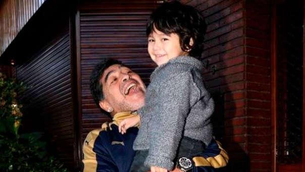 Dieguito Fernando es el último de los hijos de Diego Maradona.