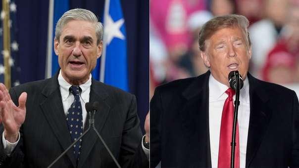 Robert Mueller (izquierda) es el encargado de investigar los presuntos vínculos entre la campaña de Donald Trump y el Gobierno de Rusia en las elecciones presidenciales del 2016.