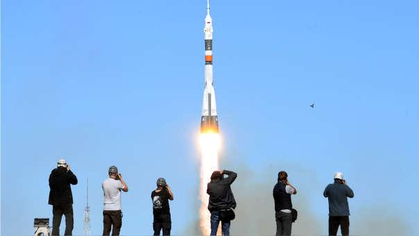 Rusia cohete Soyuz