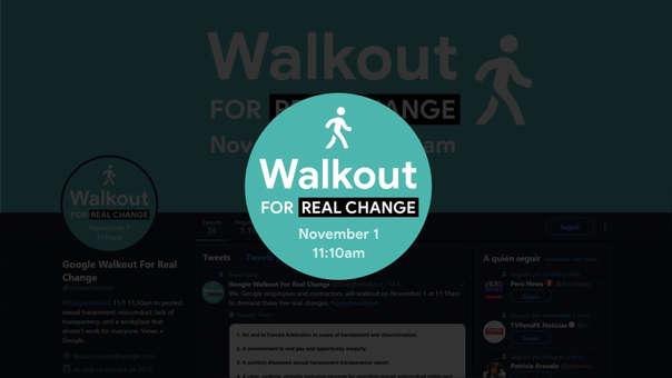 Hoy se inicia una caminata de empleados de Google contra el acoso sexual