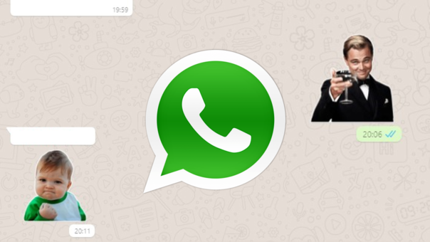 Los stickers llegaron a la versión web de WhatsApp