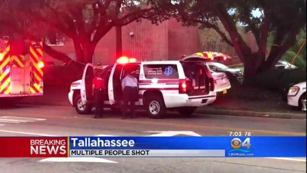 El atacante hirió a 4 personas y cuando la Policia lo rodeó se quitó la vida con su propia arma.