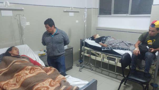 Cuatro ciudadanos venezolanos permanecen internados