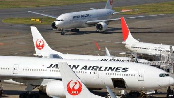 Aviones de la aerolínea Japan Airlines