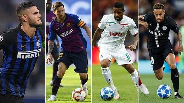 Repasa la programación del martes 6 por la cuarta jornada de la Champions League.