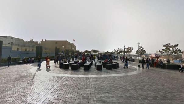 El supuesto humorista realizaba su monólogo en la Alameda Chabuca Granda en el Cercado de Lima.