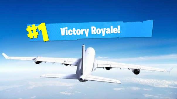 Aviones en Fortnite