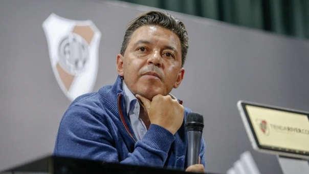 Marcelo Gallardo tampoco pudo dirigir el partido de vuelta ante Gremio por las semifinales de la Copa Libertadores.
