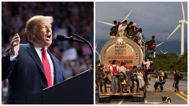 Donald Trump Migrantes