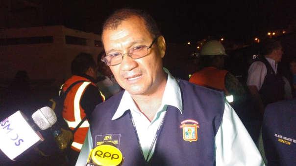 Jefe de Defensa Civil de Chiclayo, Luis Calle, llamó a ciudadanos a dejar las autoconstrucciones de viviendas