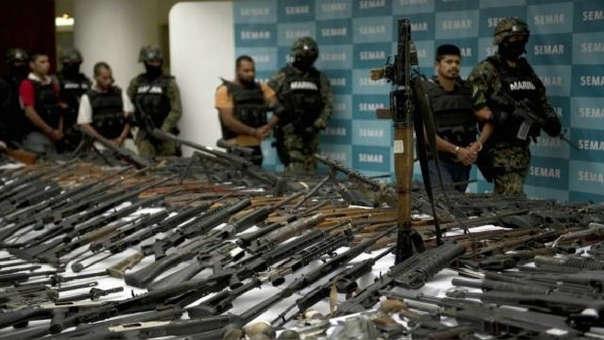 Resultado de imagen para armas de fuego mexico