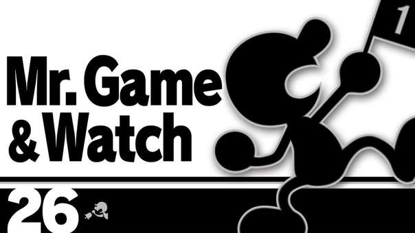 Mr Game & Watch - Super Smash Bros. Ultimate