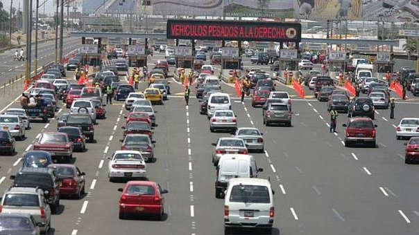 Rutas de Lima maneja cuatro peajes en Lima Metropolitana.
