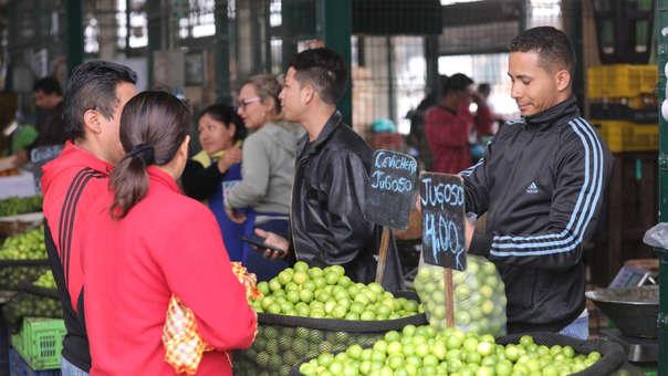 El Ministerio de Agricultura señala que el alza del precio del limón es solo temporal, y que la escasez se da por temporada de baja cosecha, y por carreteras que tras el Niño Costero aún no han sido totalmente habilitadas.