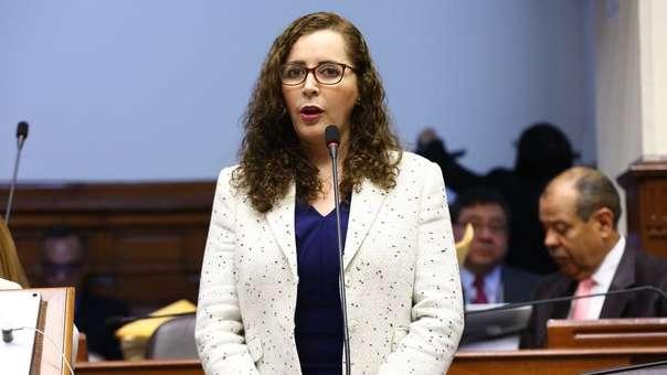 Rosa Bartra, presidenta de la Comisión Lava Jato.