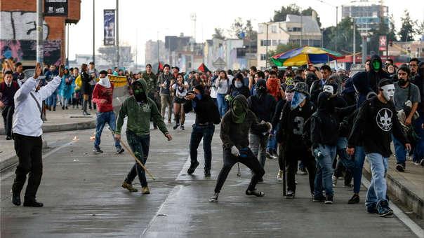 Enfrentamiento en Colombia