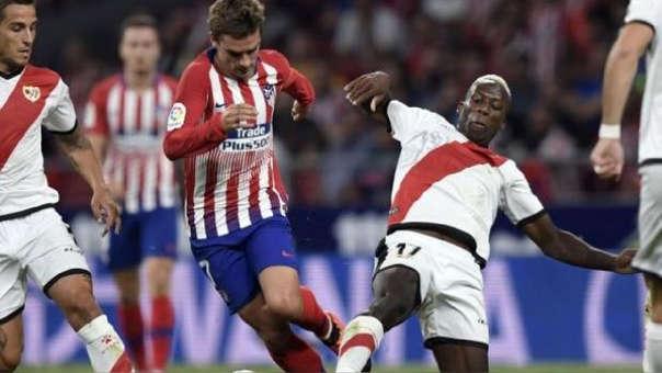 Luis Advíncula ha marcado un gol en esta edición de la Liga de España.