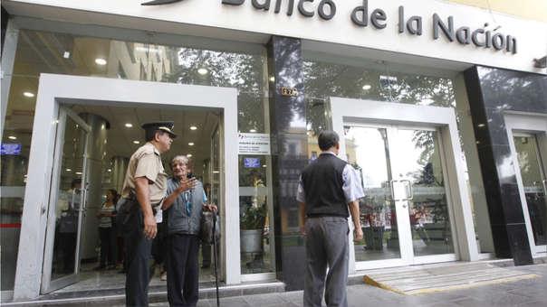 Banco de la Nación registra fallas en la actualización de su software.