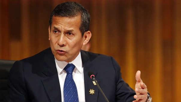 El expresidente Ollanta Humala es investigado en el caso de aportes de la empresa Odebrecht para su campaña presidencial en 2011.