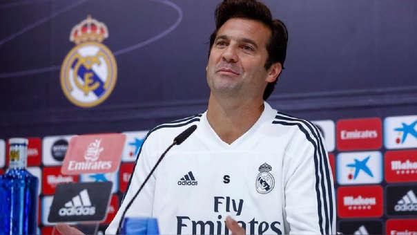 Santiago Solari comenzó su carrera como técnico en las divisiones inferiores del Real Madrid.