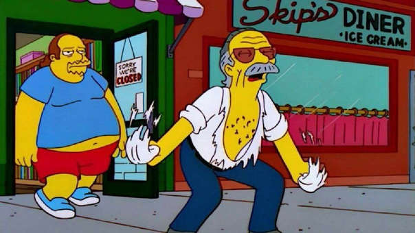 Stan Lee en Los Simpsons