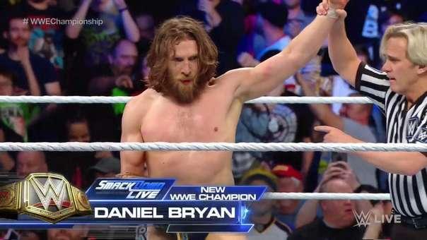 Daniel Bryan ganó su cuarto título de la WWE.