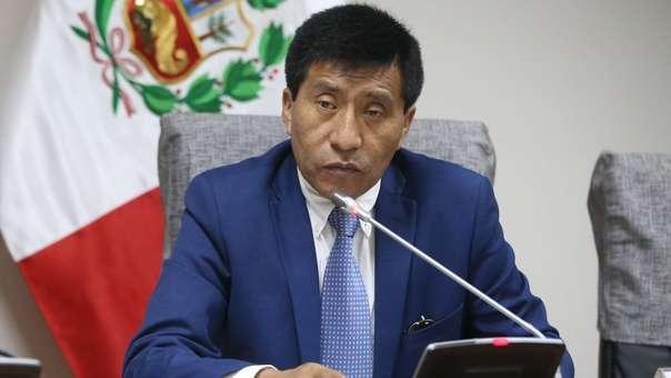 Moisés Mamani es congresista de Fuerza Popular por Puno.