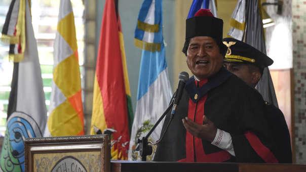 GUATEMALA-BOLIVIA-MORALES-HONORIS CAUSA