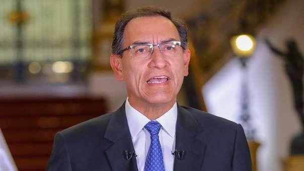 Martín Vizcarra asumió la Presidencia tras la renuncia de PPK.