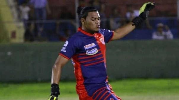 Oscar Munguia era suplente en el Club Deportivo Vida de La Ceiba de Honduras.