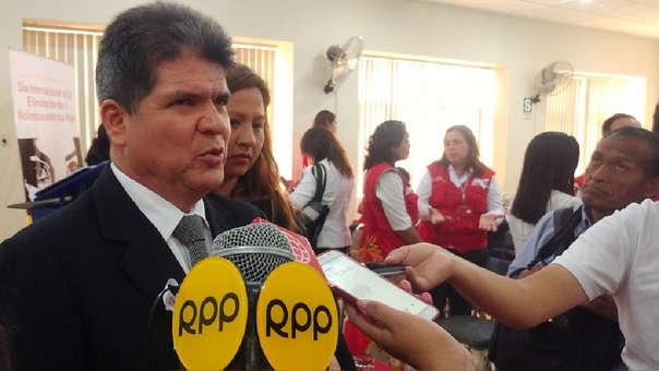 Aldo Zapata López, presidente de la Corte Superior de Justicia de Lambayeque
