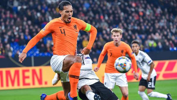 Holanda 2-2 Alemania