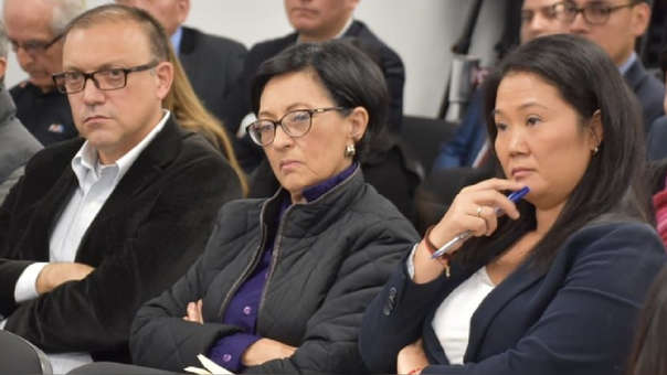 Keiko Fujimori, Ana Herz de Vega, junto a Pier Figari, son señalados como la 'cúpula' de Fuerza Popular.