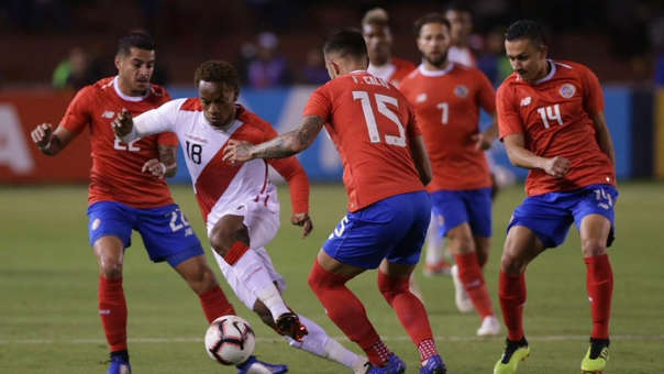 Perú vs. Costa Rica