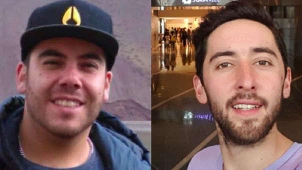 Felipe Osiadacz y Fernando Candia: La familia de ambos ciudadanos chilenos luchó para evitar que sufran la pena de muerte.