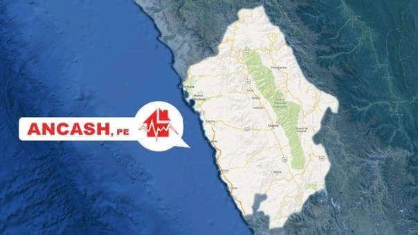 Sismo fue reportado por el IGP con una magnitud 5.7.