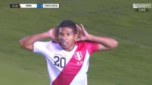 Perú vs. Costa Rica EN VIVO: Edison Flores anotó tras preciso centro de Aldo Corzo | VIDEO