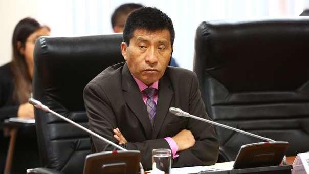Moisés Mamani, congresista de Fuerza Popular por Puno.