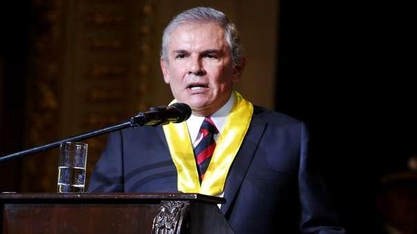 Luis Castañeda dejará el cargo a fin de año.