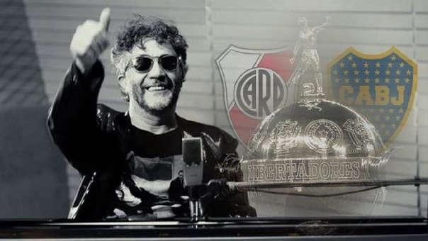 River vs. Boca EN VIVO: Fito Páez le canta a la final de la Libertadores | VIDEO