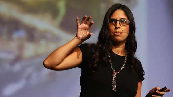Mariana Alegre contó su historia durante el evento organizado por RPP.