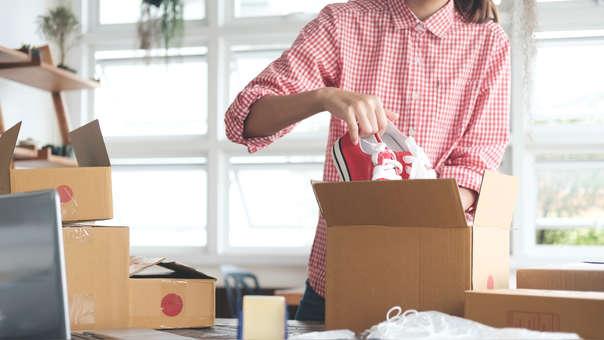 Muchos productos ofrecidos en Amazon llegan al Perú directamente