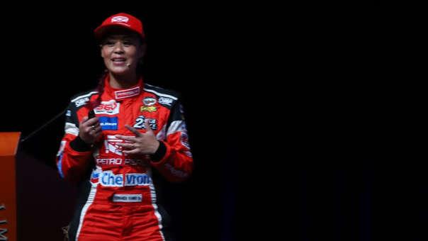 Fernanda Kanno corrió el Dakar este año.
