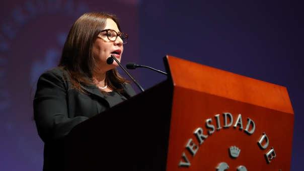 La ministra de la Mujer resaltó la importancia del Foro Mujeres de Cambio para la sociedad.
