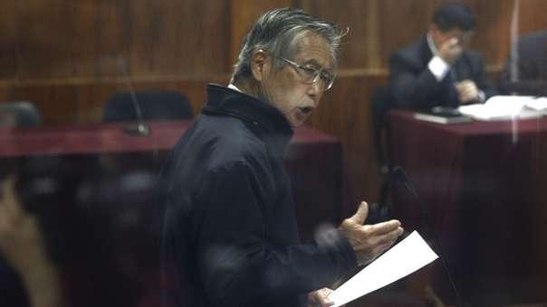 Alberto Fujimori es procesado por el Caso Pativilca.