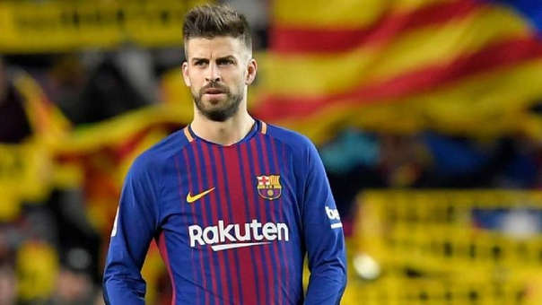 Barcelona vs. Atlético de Madrid EN VIVO  Gerard Piqué analiza ... c85971e01d89e
