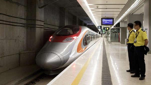 Tren en China