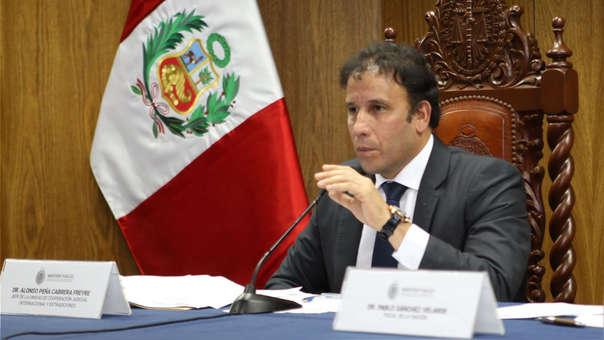 El fiscal Vela denunció la filtración de información reservada del caso Odebrecht desde la Unidad de Cooperación Internacional, liderada por el fiscal Alonso Peña
