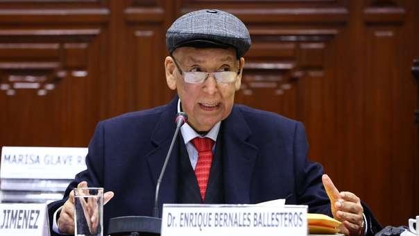 Enrique Bernales falleció a los 78 años.