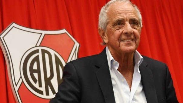 Rodolfo D'Onofrio es presidente de River Plate desde el 2013.